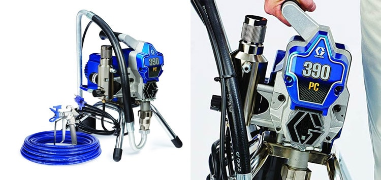 Graco 390 Airless Paint Sprayer Review