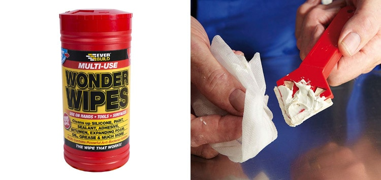 Solvent Paint Wipes or Cleaning Wipes