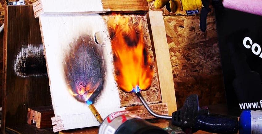 Spraying Fire Retardant Paints with a Spray Gun