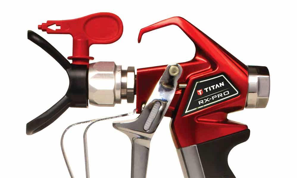 Titan Spray Gun and Spray Tip