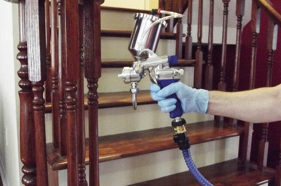 Using a HVLP Paint Sprayer
