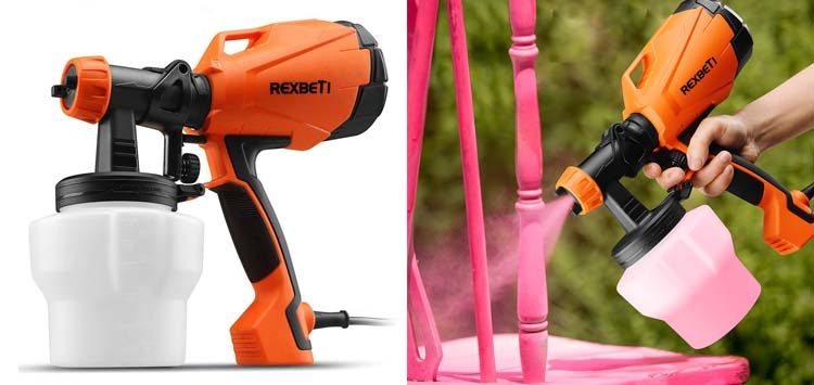 Best Budget Handheld- REXBETI Ultimate - 750 Paint Sprayer