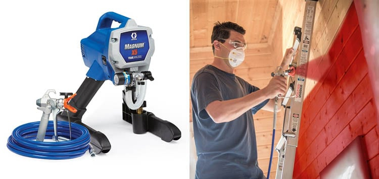Best Semi-Pro Airless Paint Sprayer- Graco Magnum 262800 X5