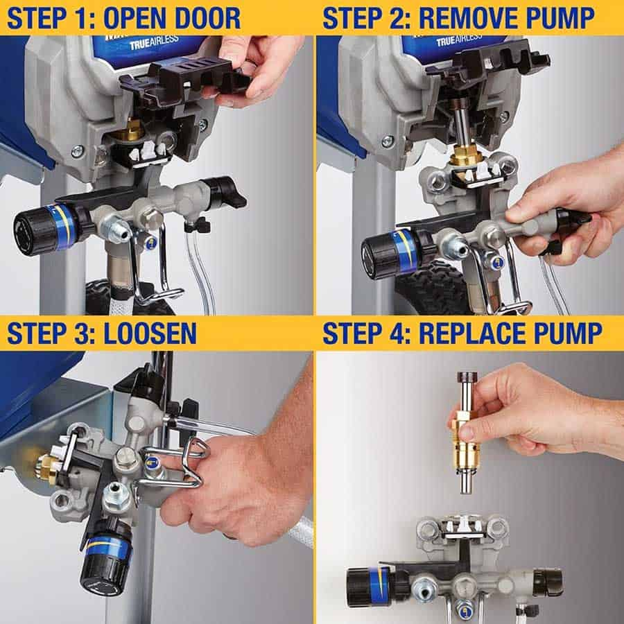 Easy to Replace Piston and Pump Section