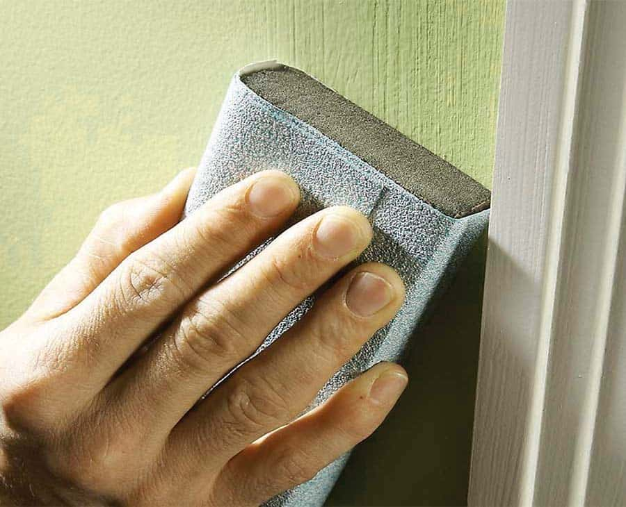 How To Sand Down a Wall