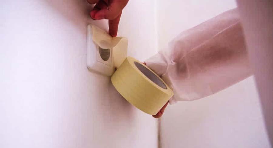 Painting Around Sockets
