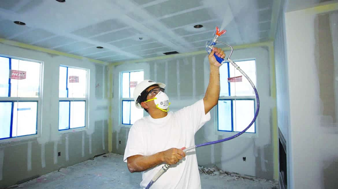 Airless Paint Sprayer vs Roller