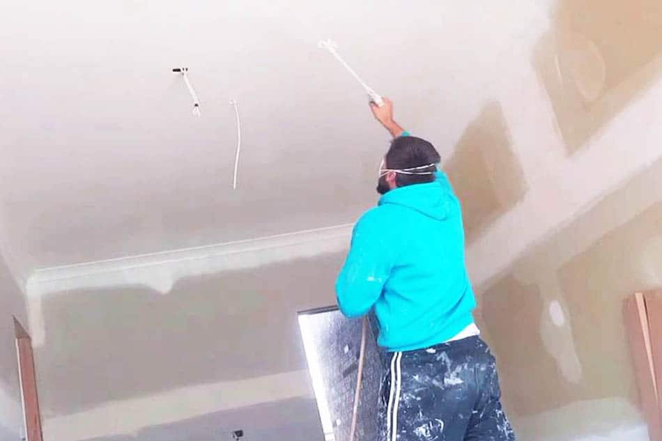 How To Paint Popcorn Ceiling with a Paint Sprayer