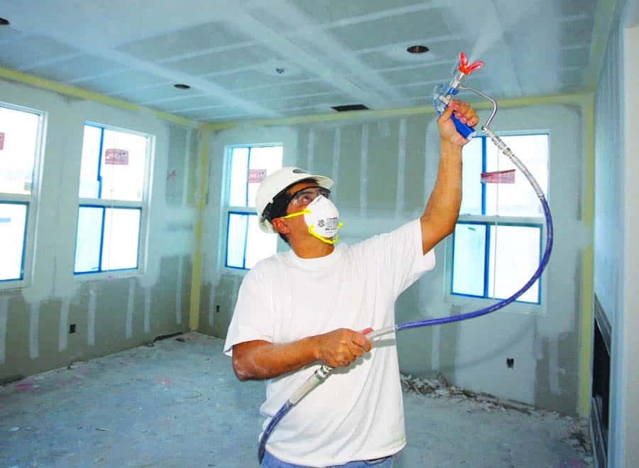 Using a Graco 390 Paint Sprayer