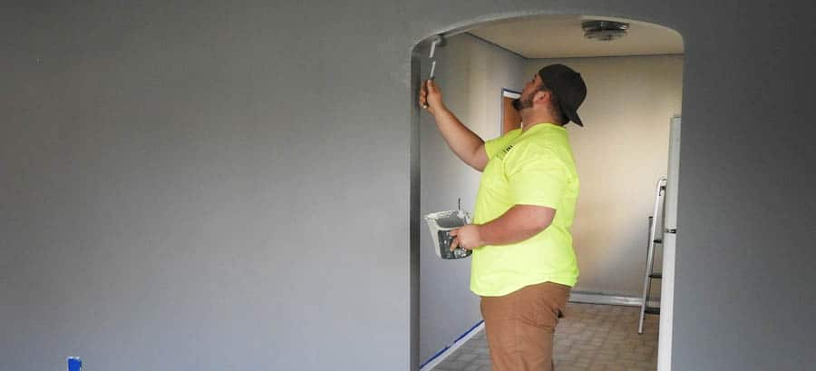 Painting a House