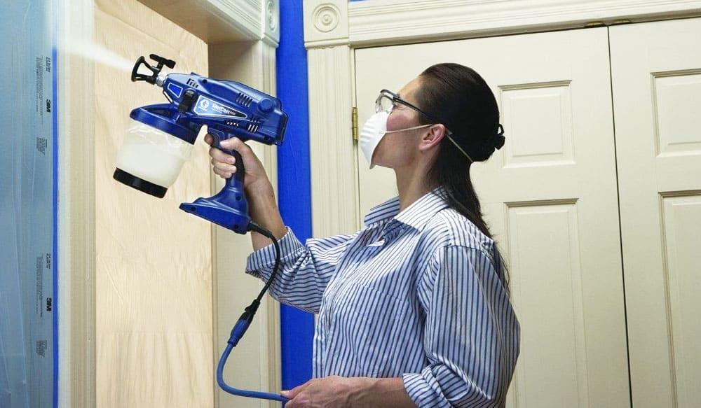Using Handheld Graco Sprayers