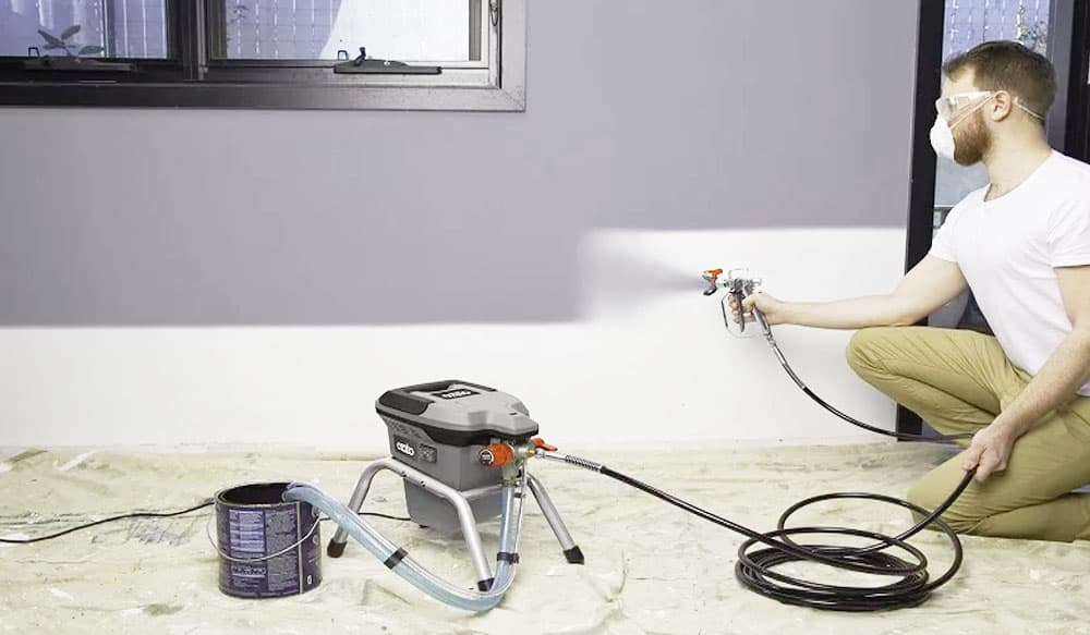 Using a Professional Paint Sprayer