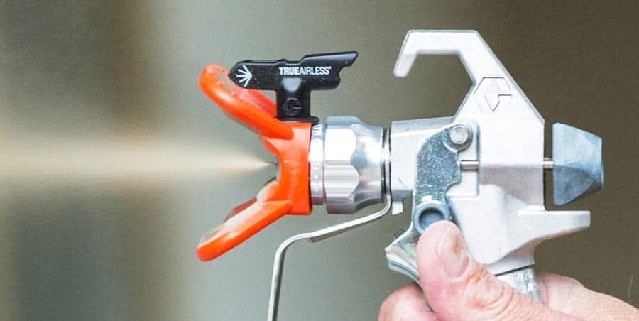 Using a Spray Gun