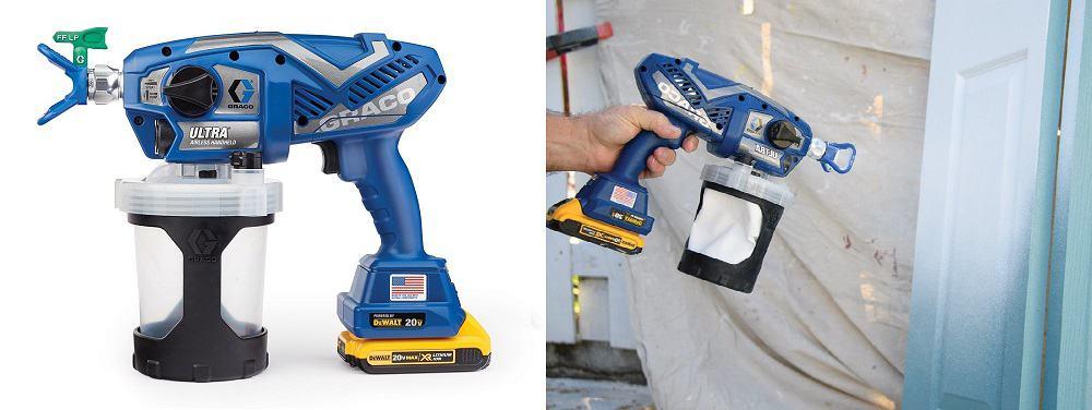 Graco Ultra Cordless Airless Handheld Paint Sprayer