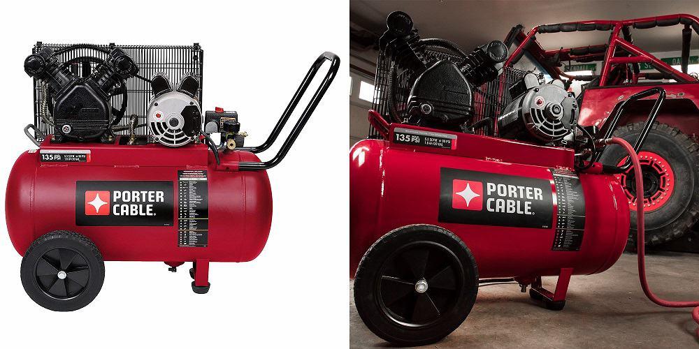 Porter-Cable PXCM202 Portable Belt Drive 20-Gallon Air Compressor