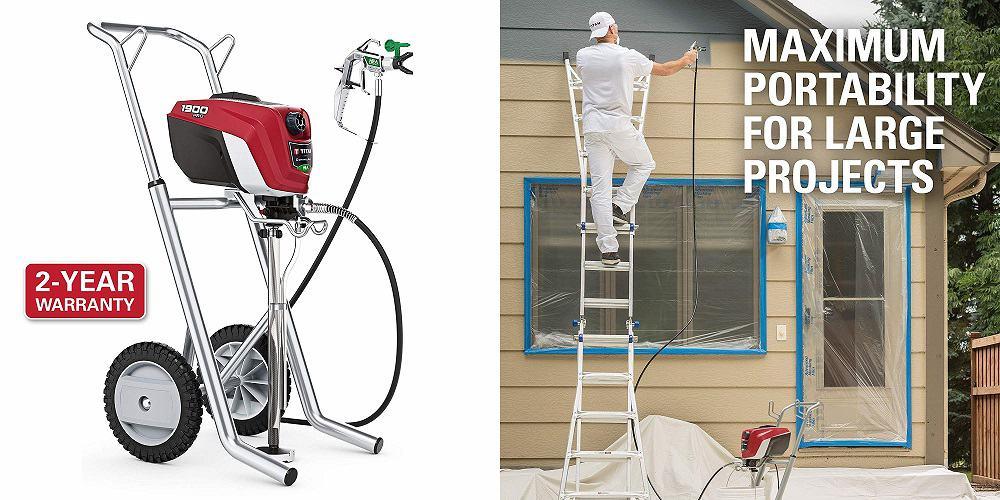 Titan ControlMax 1900 PRO High Efficiency Paint Sprayer
