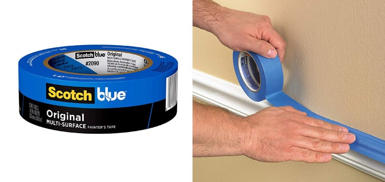 1. Best Overall- ScotchBlue Multi Use Painter's Tape