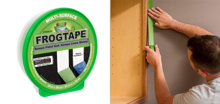 2. Best Seal- FrogTape 1358463 Multi Surface Painting Tape