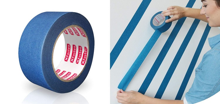 5. Best Versatility- XFasten Professional Blue Painter's Tape