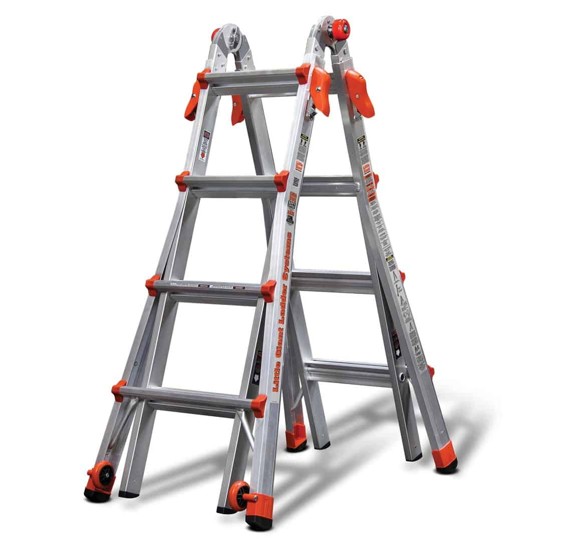 Articulated Folding Ladders