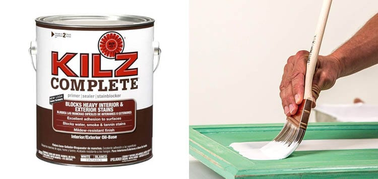 KILZ Complete High-Adhesion and Penetration Interior Exterior Oil-Based Primer