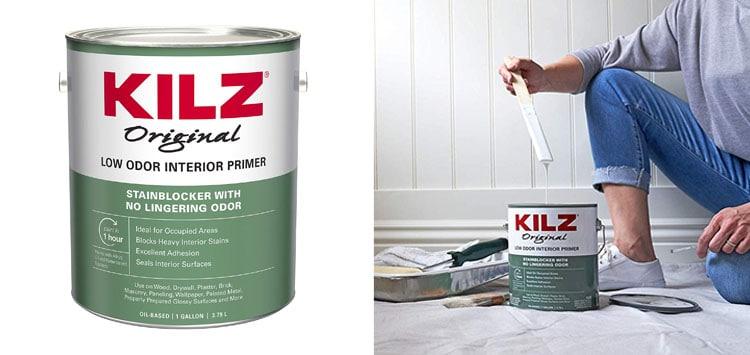 KILZ Odorless Interior Oil-Base Primer