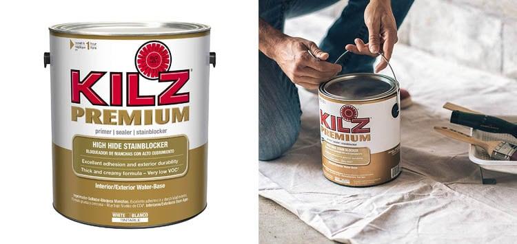 KILZ Premium High-Hide Stain Blocking Interior Exterior Latex Primer Sealer