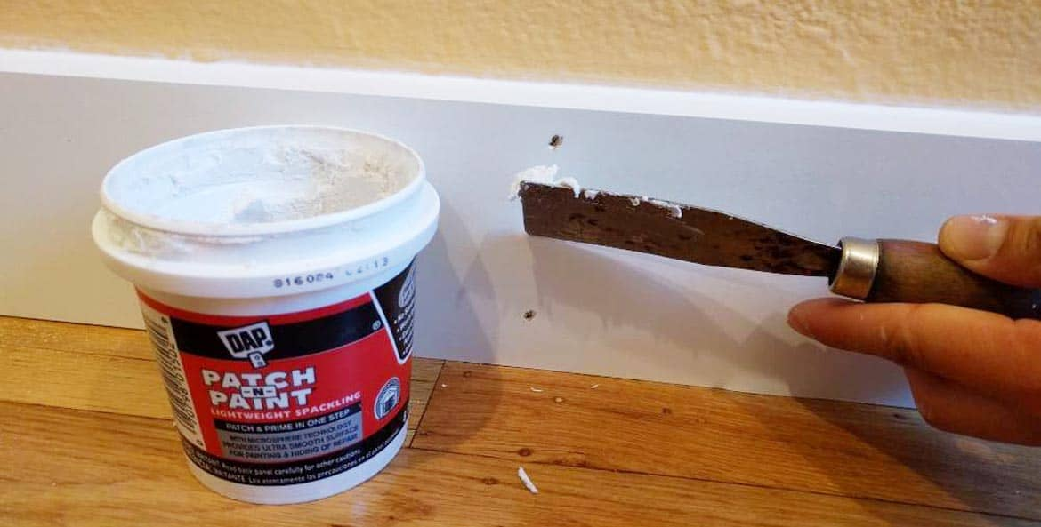Using Painters Putty
