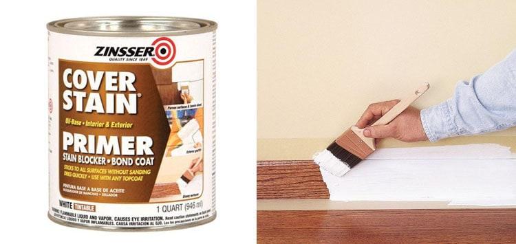 Zinsser 03504 Cover Stain Interior Exterior Oil Primer Sealer