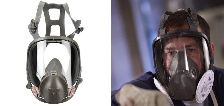 3M Full Facepiece Reusable Respirator 6800