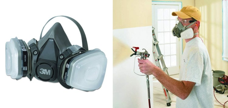 3M Paint Project Respirator, Medium