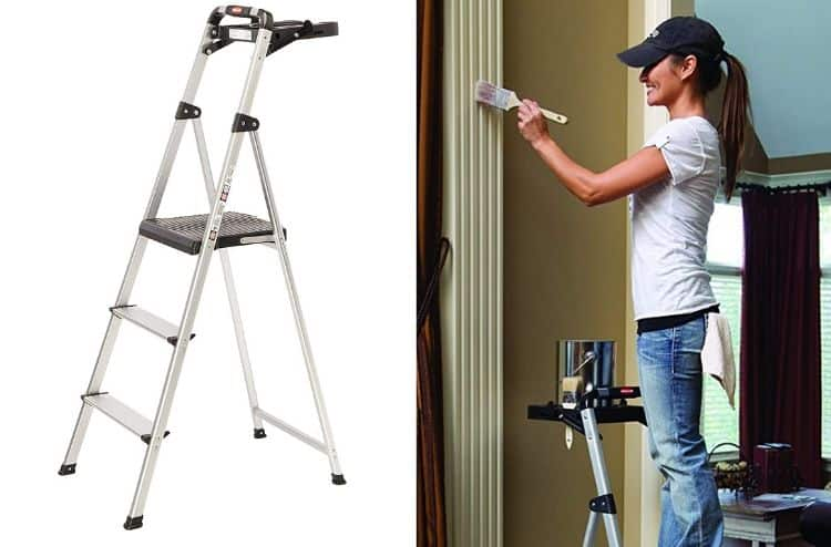 Rubbermaid Ultra Light Step Stool with Tool Tray