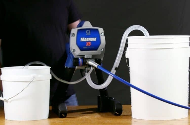How to Prime a Paint Sprayer