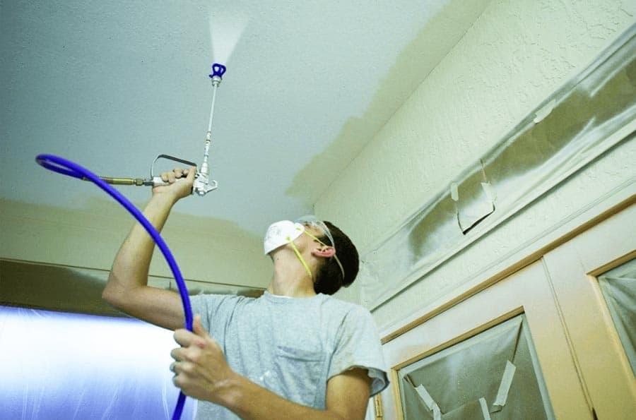 Indoor Paint Sprayer Advice