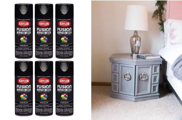 Krylon All-in-One Fusion Gloss Black Spray Paint
