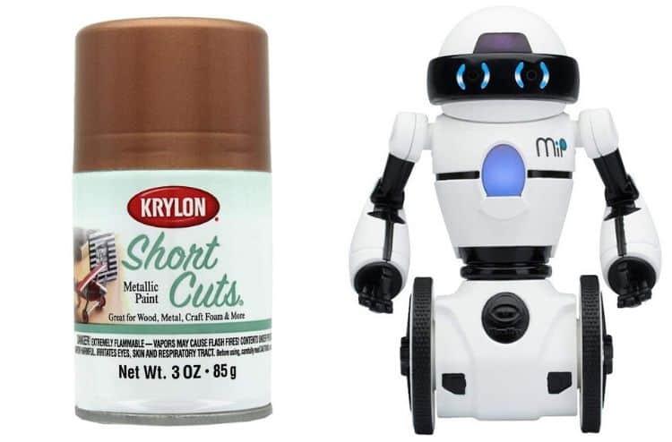 Krylon Shortcuts Aerosol Paint 3oz MTLC