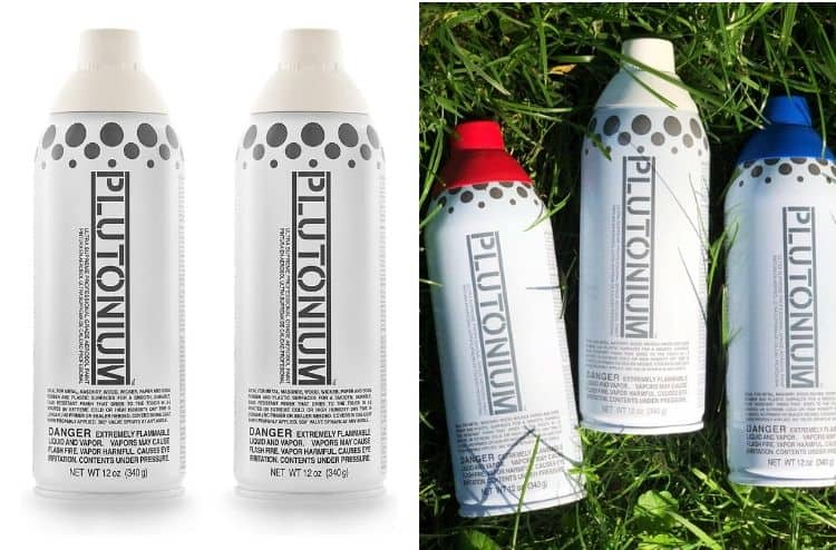 Plutonium Ultra Supreme Professional Aerosol Spray Paint
