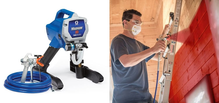 Fastest & Most Professional- Graco Magnum X5 Airless Paint Sprayer