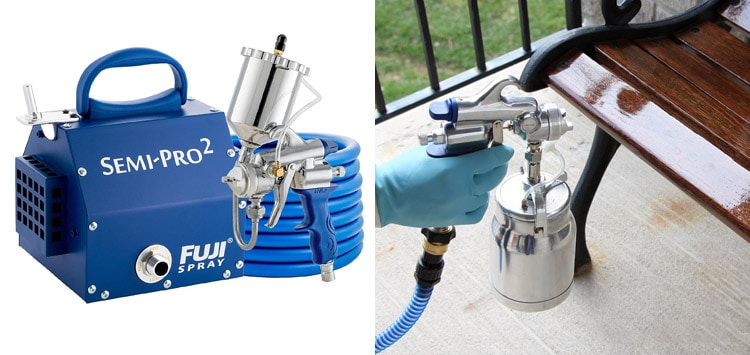 Fuji Semi-Pro 2 Gravity-Feed HVLP Spray System