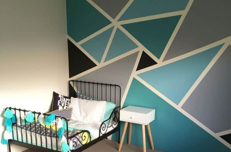 Triangle Paint Designs