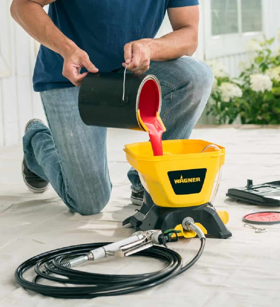 how to use wagner paint sprayer