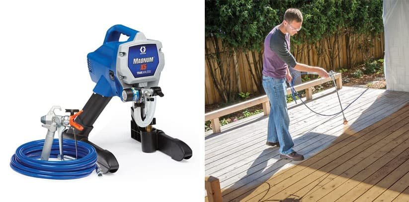 Graco Magnum X5 Stain Sprayer Review