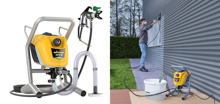 5. Wagner Control Pro 250 M Airless Sprayer