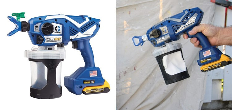 Best for Home DIY Projects- Graco Ultra Max Cordless Airless Handheld