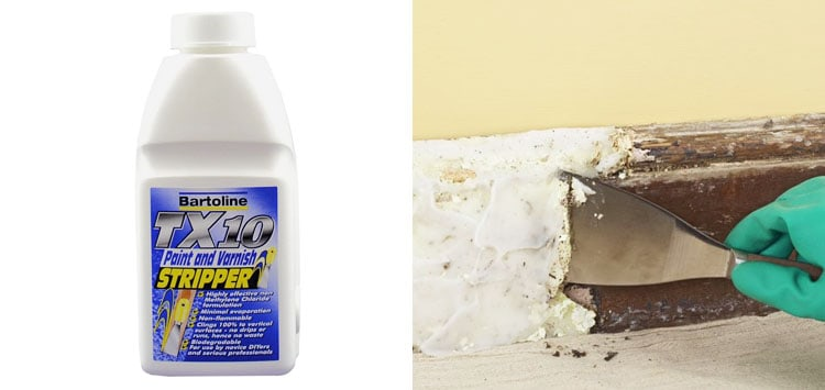 Best for Professionals- Bartoline TX10 Paint and Varnish Remover