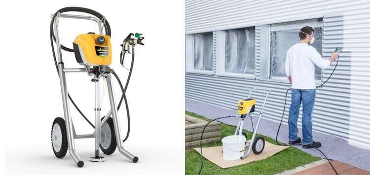 Best for Regular Users- Wagner ControlPro 350M Airless Paint Sprayer