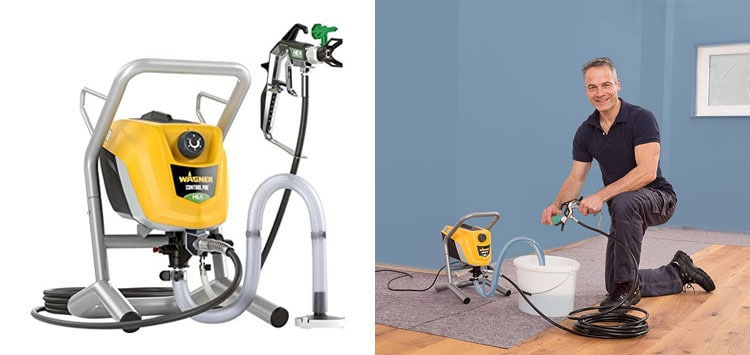 Best for Walls- Wagner ControlPro 250 M Airless Paint Sprayer