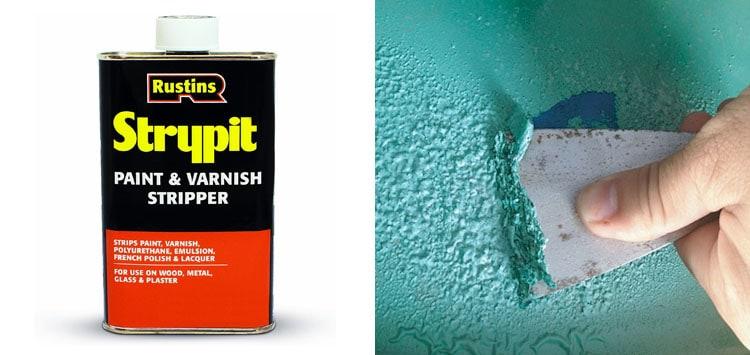 Our #1 Pick- Rustins Strypit Paint Remover