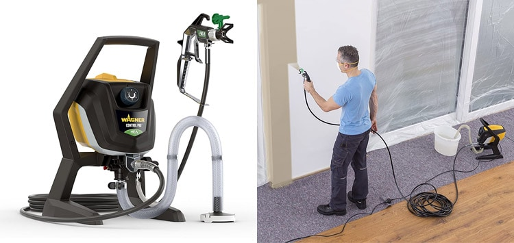 Wagner Airless ControlPro 250 R Emulsion Paint Sprayer Review