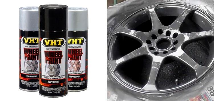 Best High Heat Coating- VHT Gloss Wheel Paint Can